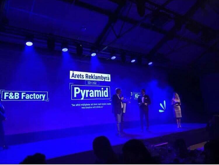Stort GRATTIS till Årets Byrå Pyramid i Helsingborg