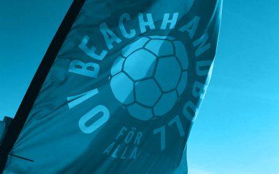 OV Beachhandboll anpassar reglerna efter Svenska Handbollsförbundet