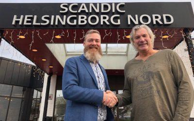 Scandic Helsingborg Nord ny partner till OV Beachhandboll